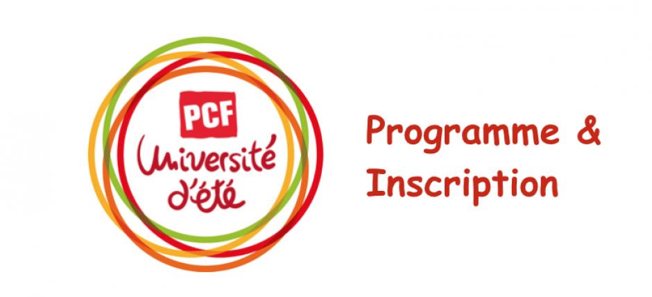 Programme et inscription